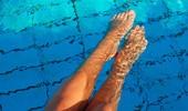 Exercícios aquáticos para as pernas